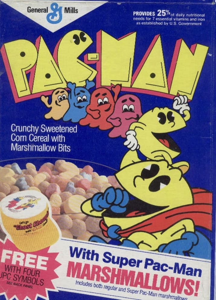 Pac-Man Cereal